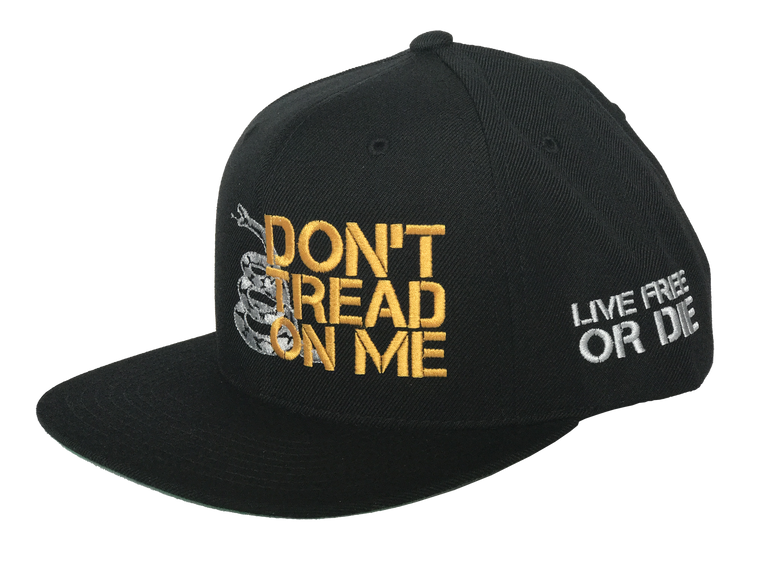 Don't Tread On Me Snapback (Black)