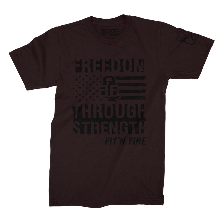Freedom Through Strength (Oxblood)