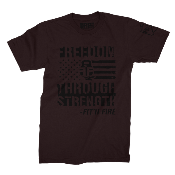 Freedom Through Strength (Oxblood) - Revolutionary Patriot