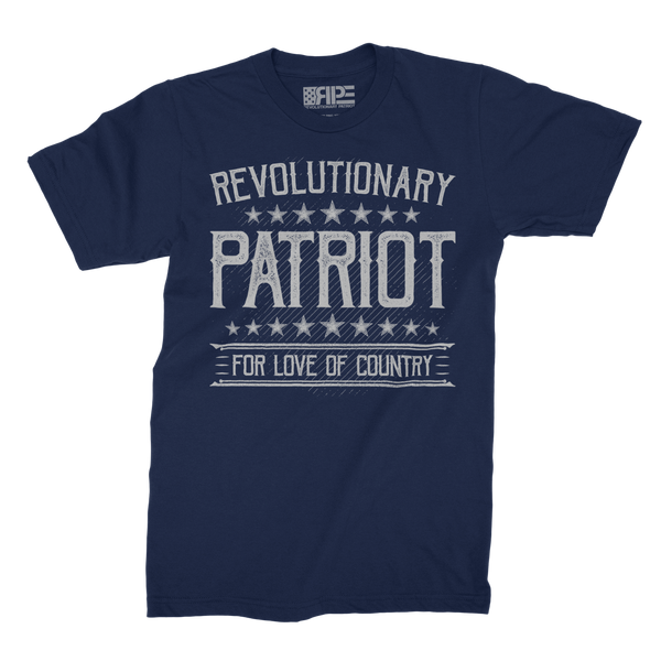 For Love of Country (Navy) - Revolutionary Patriot