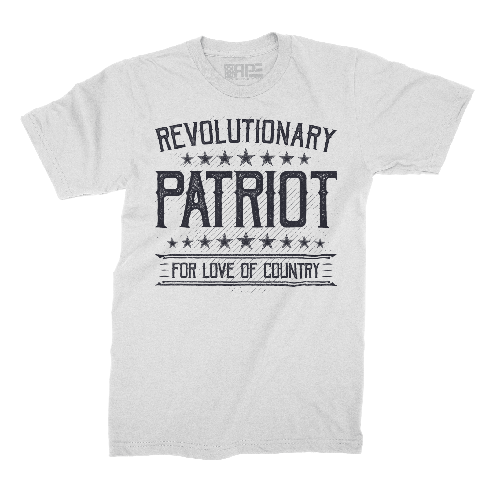 For Love of Country (White) - Revolutionary Patriot
