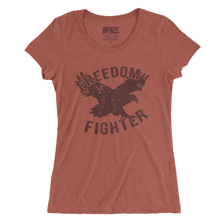 Freedom Fighter Women's - (Clay Triblend)