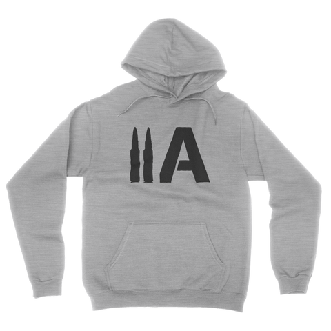 2A Hoodie (Heather Grey) - Revolutionary Patriot
