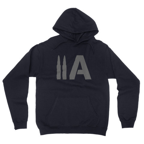 2A Hoodie (Navy) - Revolutionary Patriot