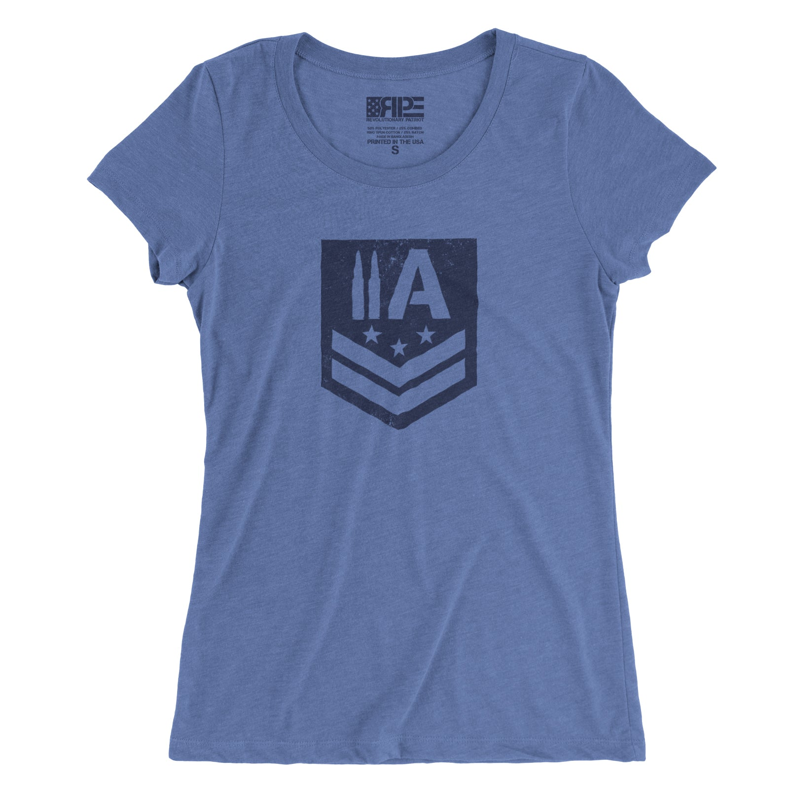 2A Insignia Women's - (Blue) - Revolutionary Patriot