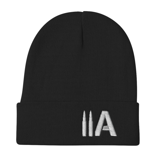2A Beanie (Black) - Revolutionary Patriot