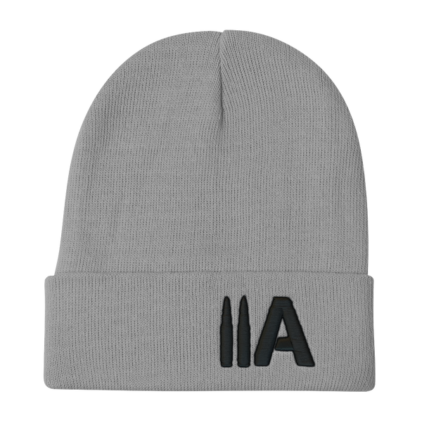 2A Beanie (Grey) - Revolutionary Patriot