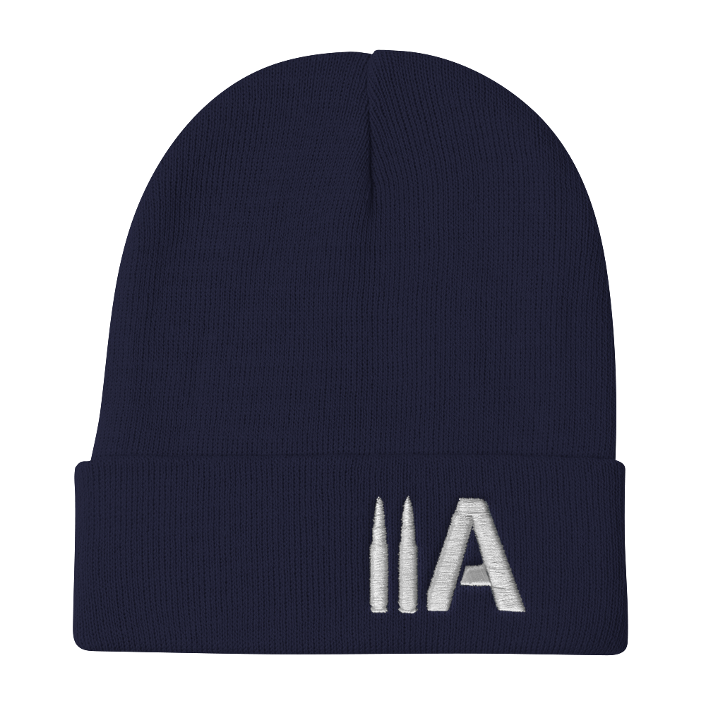 2A Beanie (Navy) - Revolutionary Patriot