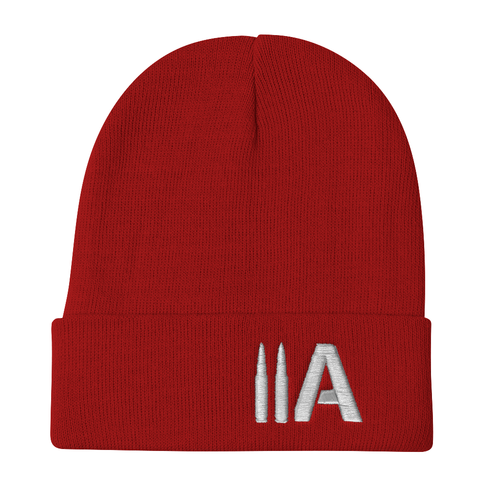 2A Beanie (Red) - Revolutionary Patriot