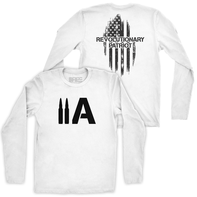 2A Long Sleeve (White)