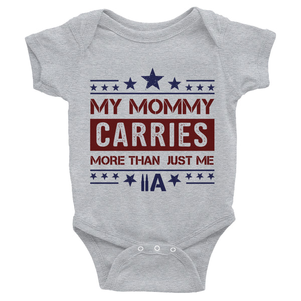 EDC Mommy Onesie - (Grey) - Revolutionary Patriot