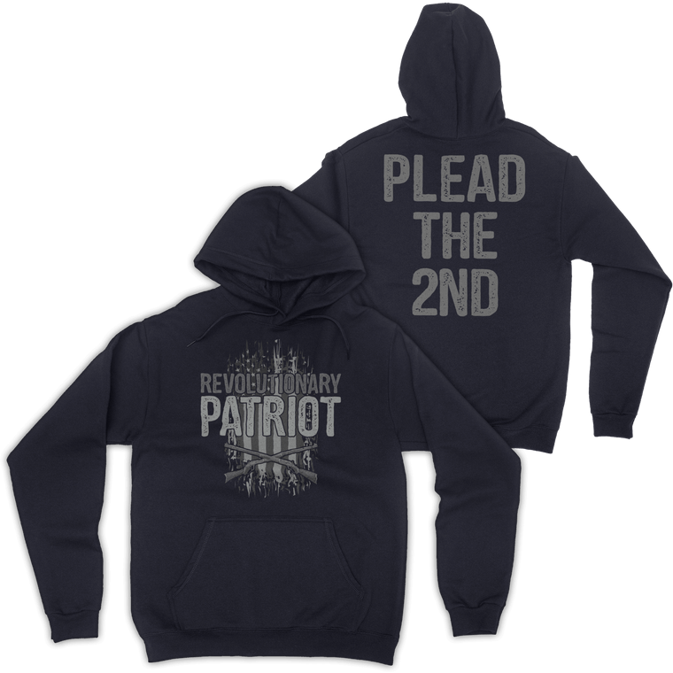 Plead The 2nd Hoodie (Navy)