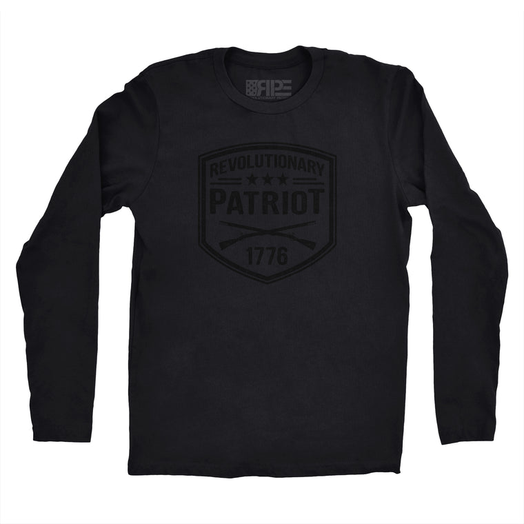 Revolutionary Patriot Long Sleeve (Blackout)