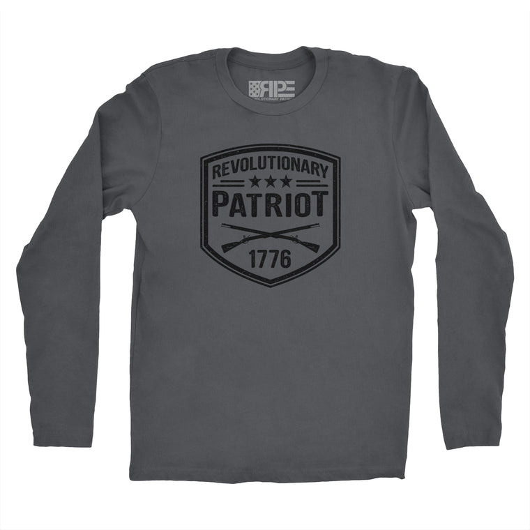 Revolutionary Patriot Long Sleeve (Dark Grey)