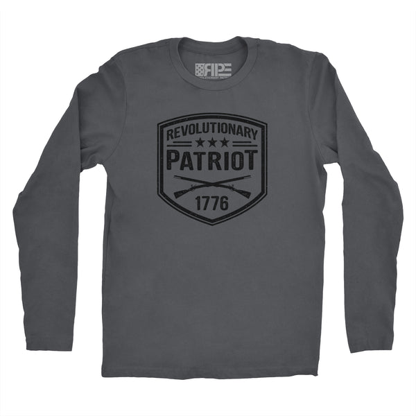 Revolutionary Patriot Long Sleeve (Dark Grey) - Revolutionary Patriot