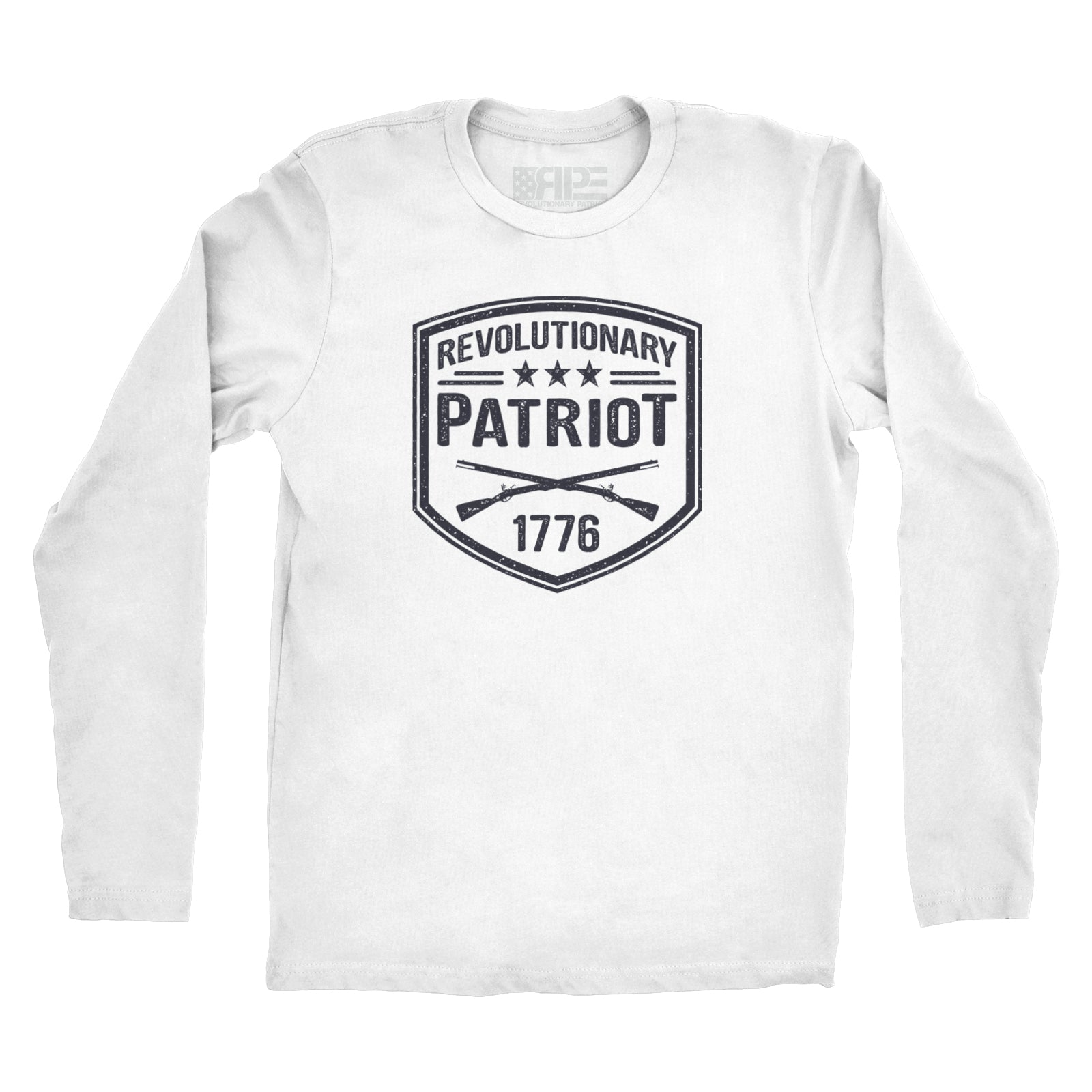 Revolutionary Patriot Long Sleeve (White) - Revolutionary Patriot