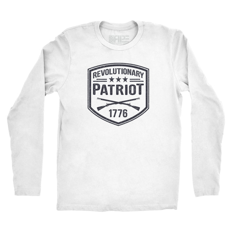 Revolutionary Patriot Long Sleeve (White)