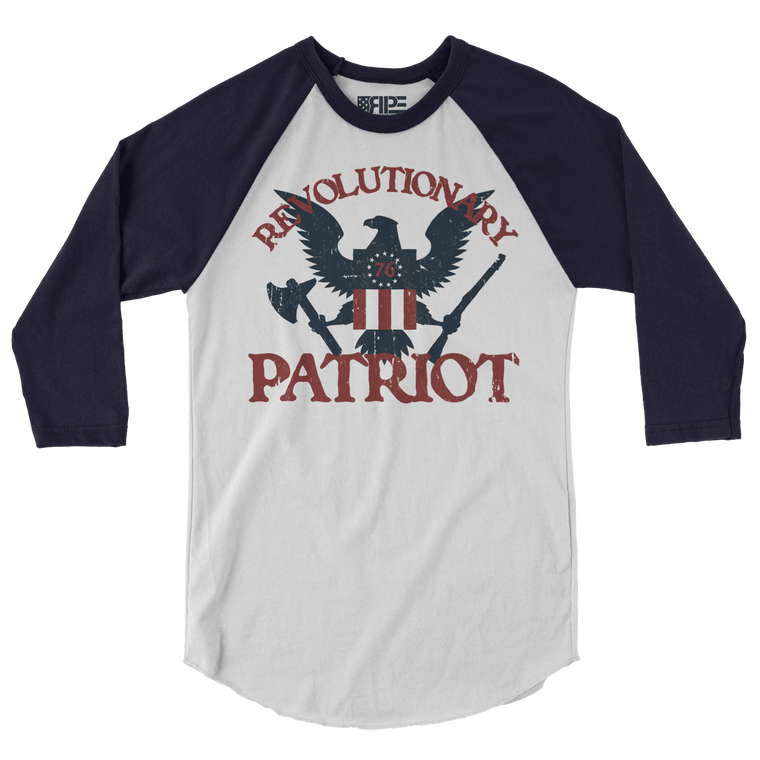 Eagle 3/4 Sleeve (White / Navy)