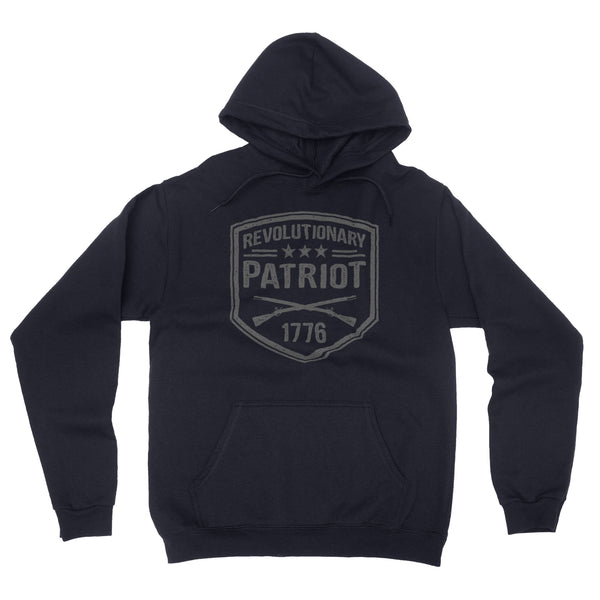 Revolutionary Patriot Hoodie (Navy) - Revolutionary Patriot