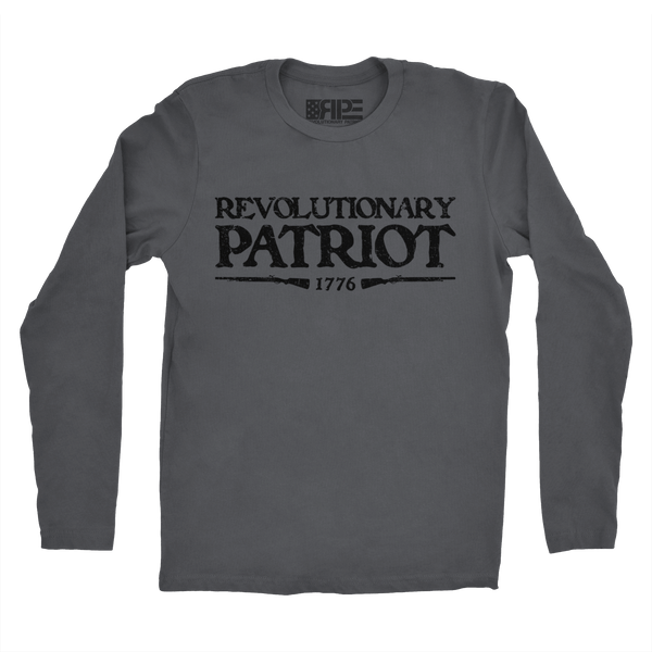 Rifleman Long Sleeve (Dark Grey) - Revolutionary Patriot