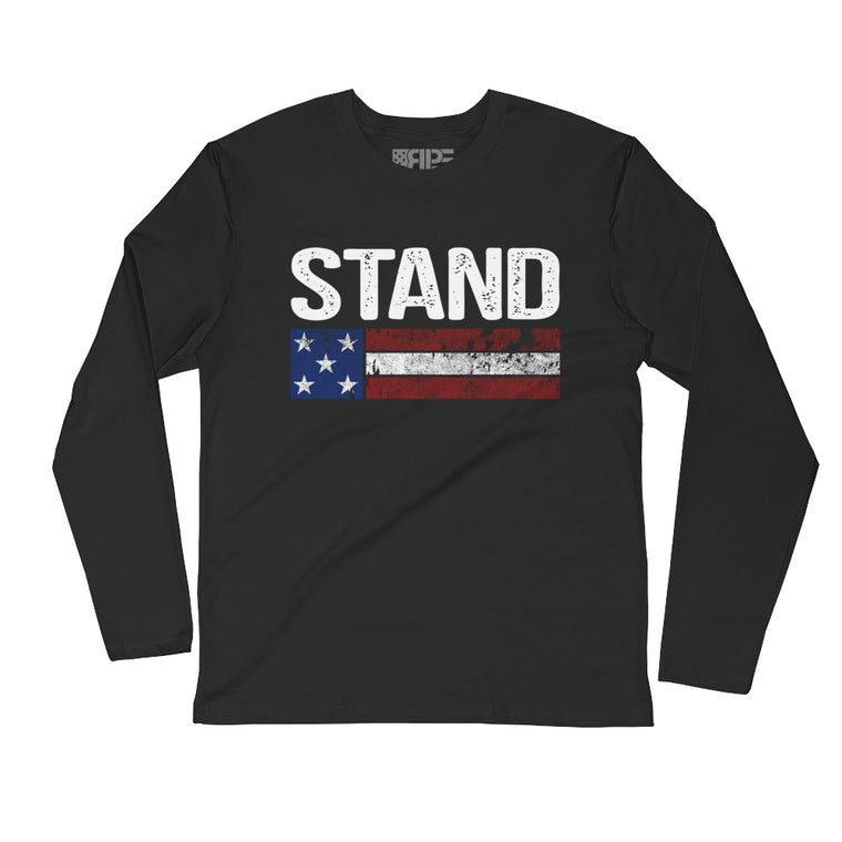 Stand Long Sleeve (Black)