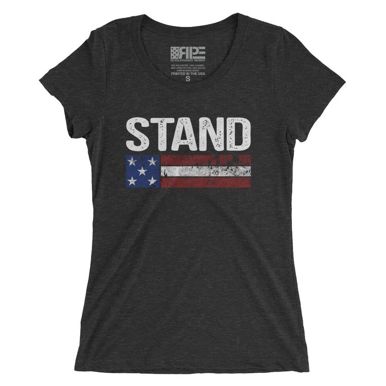Stand Women's - (Charcoal Triblend)