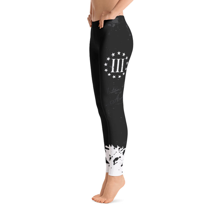 We Are The Militia Leggings (Black)