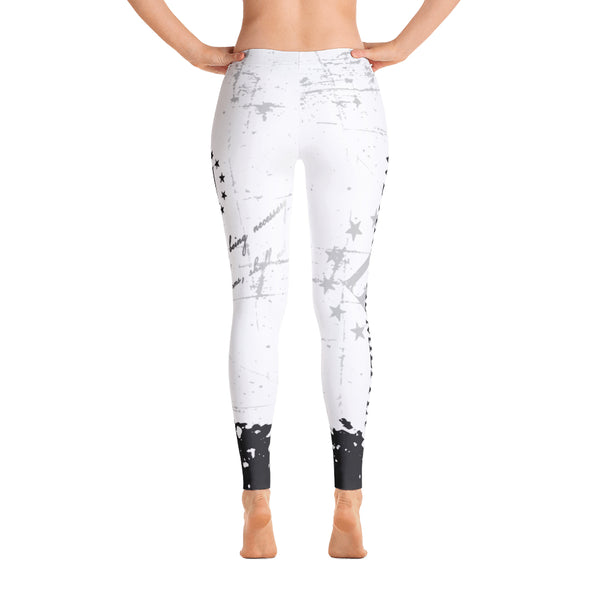 We Are The Militia Leggings (White) - Revolutionary Patriot