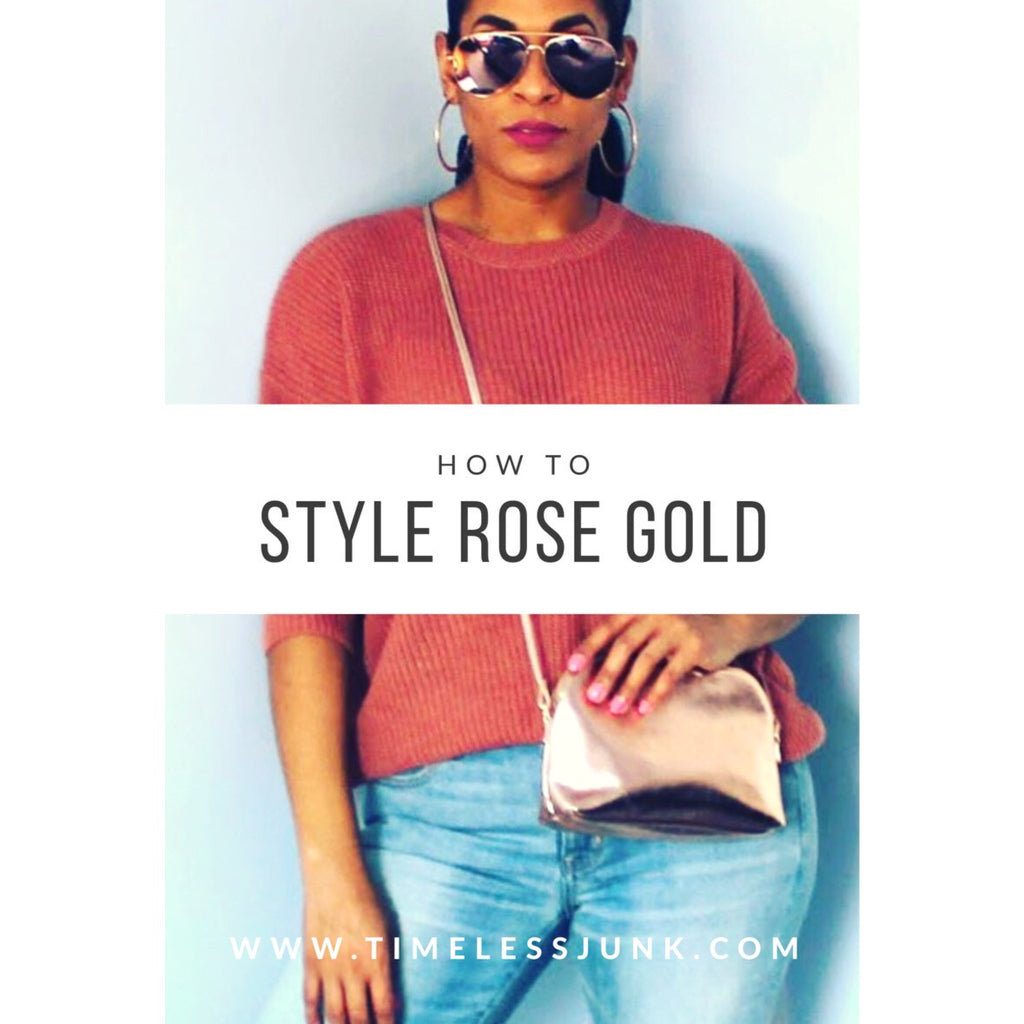 Elise Styles with Rose Gold