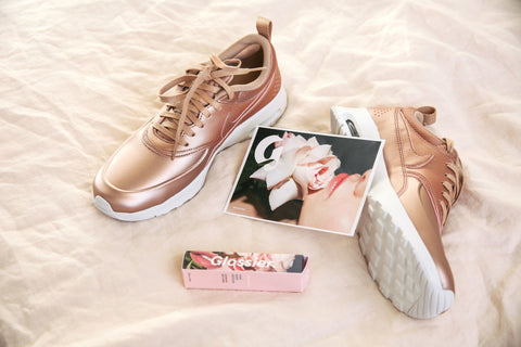 Rose Gold Sneakers