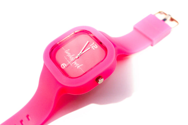 "Timeless Junk Limited Edition ""Haute Pink"" Watch"