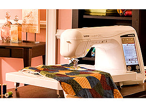 Brother Laura Ashley Innov-Is NX2000 Extension Table In Room