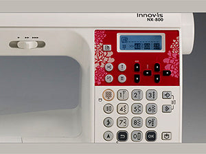 Brother Laura Ashley Innov-Is NX800 Controls