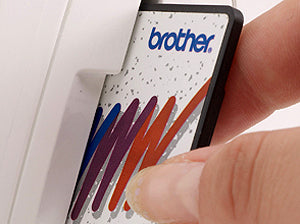 Brother PE770 Card Port