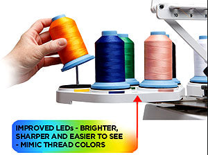 LEDs And Thread Colors