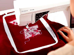 Designer Ruby Royale Embroidery Area