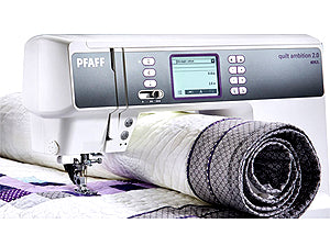 Pfaff Quilt Ambition 2.0 Large sewing space