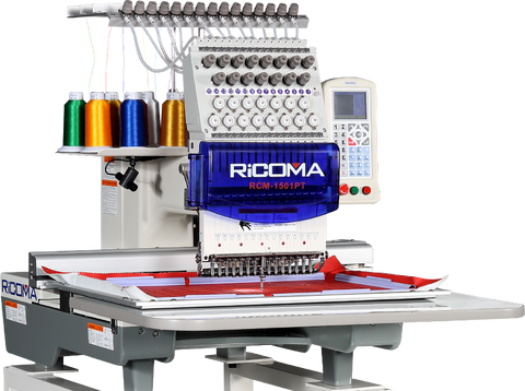 Ricoma RCM-1501PT 15 Head Embroidery Machine