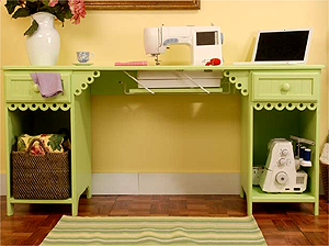 Arrow Olivia Sewing Cabinet With Adjustable Platform