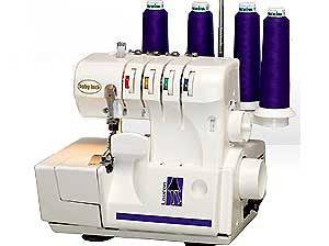 Baby Lock BL450A Lauren 4/3/2-Thread 2-Needle A-Line Series Serger