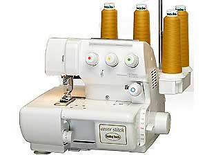 Baby Lock BLCS-2 4/3/2-Thread 2-Needle Cover Stitch Machine