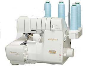 Baby Lock BLE3ATW-2 Enlighten 4/3/2-Thread 2-Needle Serger