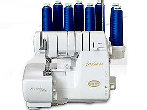 Baby Lock BLE8W-2 Evolution 8/7/6/5/4/3/2-Thread 3-Needle Serger