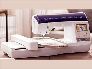 Brother Innov-is NQ1400E Single Needle Embroidery Machine