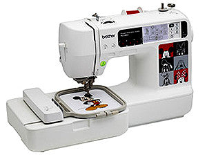 Brother PE540D Single Needle Embroidery Machine With Disney Designs