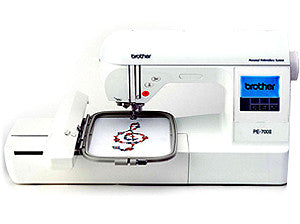 Brother PE700II Single Needle Embroidery Machine