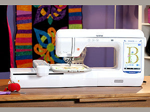 Brother VE2200 DreamMaker XE Single Needle Embroidery Machine