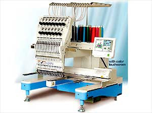 Happy HCD2-1501 15-Needle Single Head Embroidery Machine