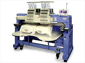 Happy HCR2-1502 15-Needle 2-Head Embroidery Machine