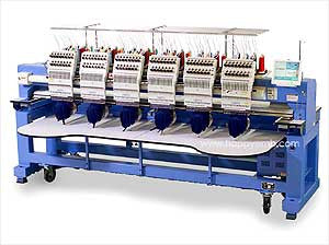 Happy HCR2-1506 15-Needle 6-Head Embroidery Machine